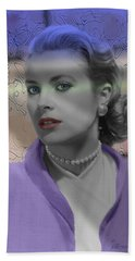 Grace Kelly - Featured In Comfortable Art Group Hand Towel by EricaMaxine  Price
