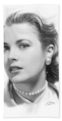 Grace Kelly Pencil Hand Towel