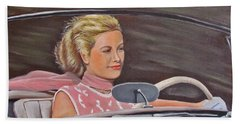 Grace Kelly - To Catch A Thief Hand Towel
