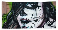 Graffiti Art Curitiba Brazil 21 Bath Towel by Bob Christopher