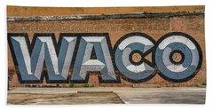Graffiti, Waco, Texas Bath Towel