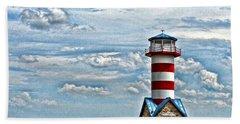 Grafton Lighthouse Bath Towel by John Freidenberg