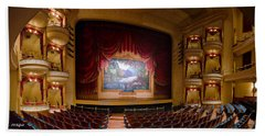 Grand 1894 Opera House - Orchestra Seating Bath Towel