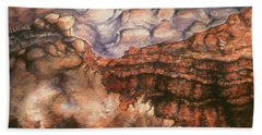 Grand Canyon Arizona - Landscape Art Painting Hand Towel