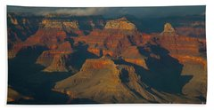 Bath Towel featuring the photograph Grand Canyon by Rod Wiens