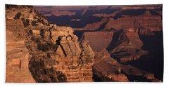 Bath Towel featuring the photograph Grand Canyon Sunrise by Liz Leyden