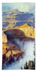 Grand Canyon View Bath Towel by Lee Piper