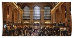 Grand Central Hand Towel by Andrew Paranavitana