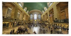 Grand Central Rush Hand Towel
