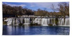 Grand Falls In Joplin Missouri Bath Towel