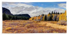 Grand Mesa Colors Bath Towel by Bob Hislop