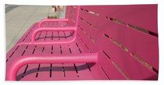 Grand Park Pink Bath Towel