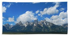 Hand Towel featuring the photograph Grand Teton National Park by Janice Westerberg