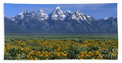 Grand Teton Summer Hand Towel