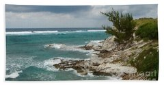Grand Turk North Shore Hand Towel by Michael Flood