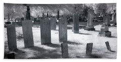 Graveyard Hand Towel by Terry Reynoldson