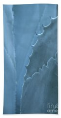 Gray-blue Patterns Hand Towel