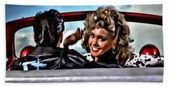 Grease Hand Towel