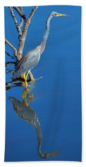 Tricolored Heron Bath Towel