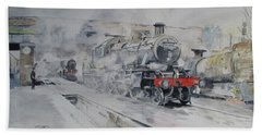 Great Central Railway Paintings Bath Towels