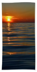 Great Lake Sunset Bath Towel