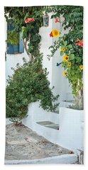 Greek House Bath Towel