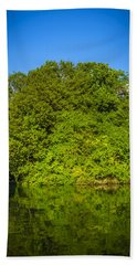 Bath Towel featuring the photograph Green Forest by Sotiris Filippou