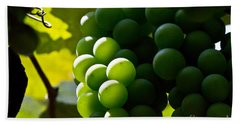 Green Grapes Hand Towel