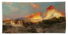 Green River Cliffs Wyoming Hand Towel