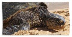 Green Sea Turtle 2 - Kauai Hand Towel