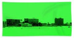 Green View. Special... Hand Towel by Oksana Semenchenko