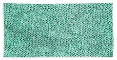 Green Wool Bath Towel