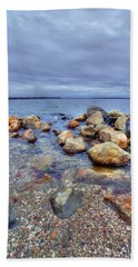 Hand Towel featuring the photograph Greenwich Bay by Alex Grichenko
