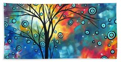 Greeting The Dawn By Madart Hand Towel