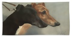 Greyhounds  Bath Towel
