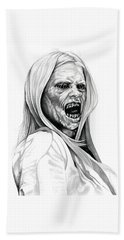 Grimm Hexenbiest Hand Towel by Fred Larucci