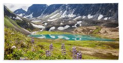 Grizzly Bear Lake Hand Towel