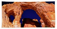Grosvenor Arch Sunset Kodachrome Basin Hand Towel by Ed  Riche