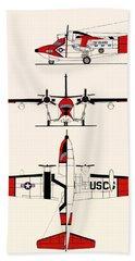 Grumman Hu-16e Albatross Hand Towel by Mountain Dreams