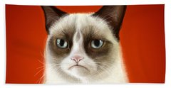 Grumpy Cat Bath Towel