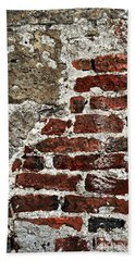 Grunge Brick Wall Bath Towel