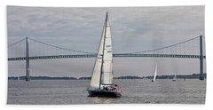 Gryphon Swan 44 Yacht Sailing Bath Towel