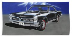 Gto 1967 Bath Towel