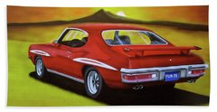 Gto 1971 Hand Towel by Thomas J Herring
