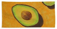 Guacamole Time Bath Towel by Marna Edwards Flavell