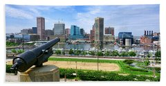 Guarding Baltimore Hand Towel