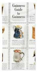 Guinness Guide To Guinness Hand Towel