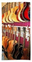 Guitars For Sale Hand Towel