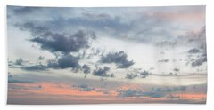 Gulf Of Mexico Sunset Hand Towel