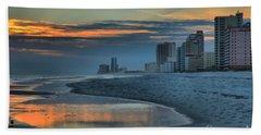Gulf State Park Sunset Hand Towel
